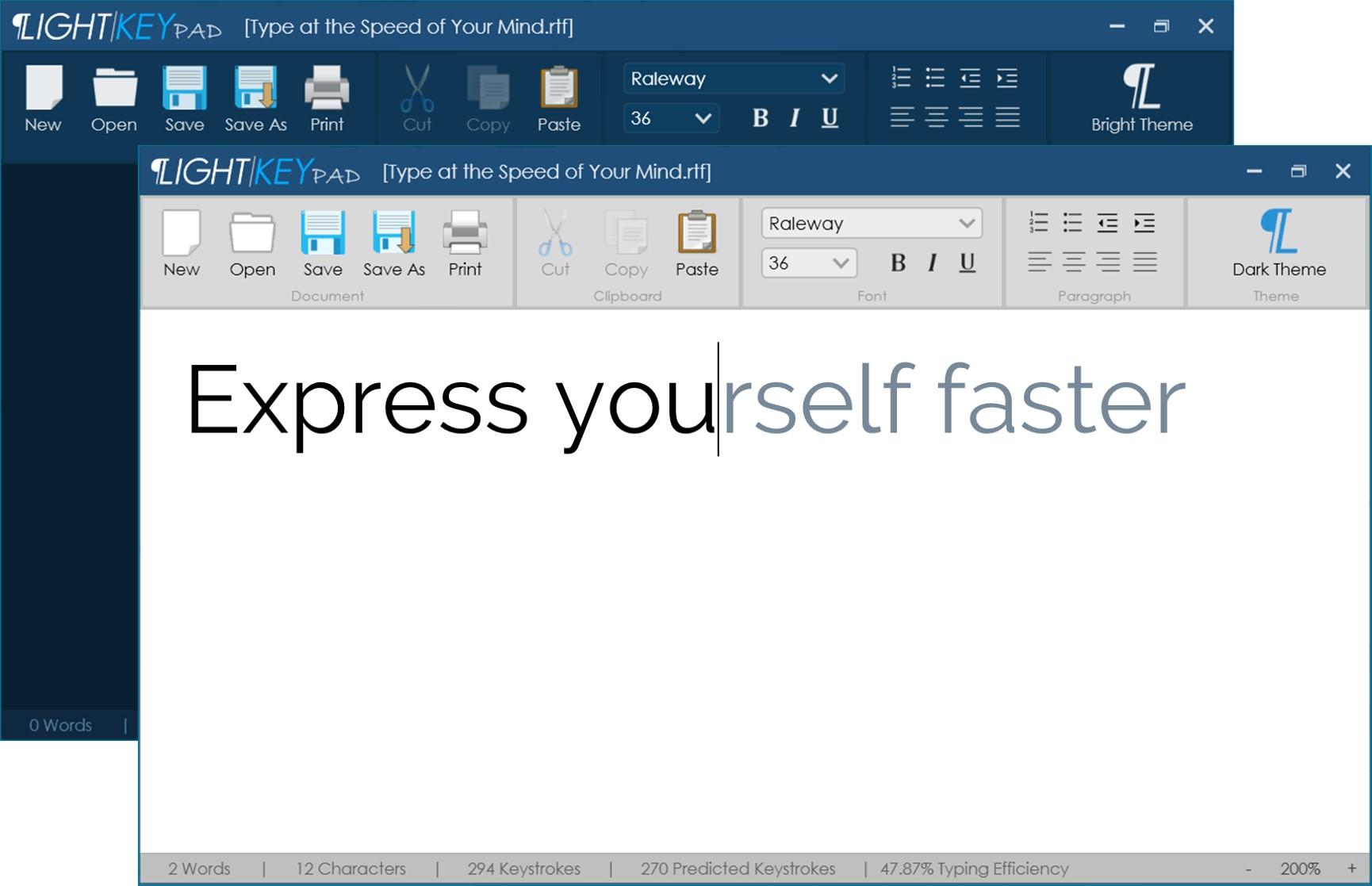 Lightkey Free Predictive Text Editor